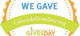 Flonomics Gives on ColoradoGives Day!